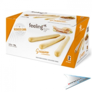 Feeling OK-Feeling Ok Grissini Linea Optimize 2 (conf. 3 x 50 gr.)   Naturale