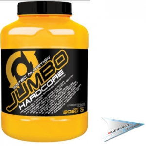 Sci Tec Nutrition-Jumbo Hardcore  1530 gr. Yogurt Banana