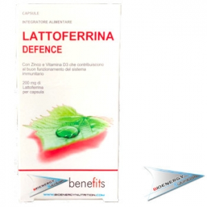 Benefits - Fitness Experience-LATTOFERRINA (conf. 30 cpr. da  200 mg.)