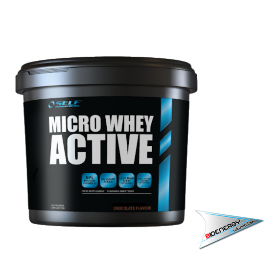 SELF-MICRO WHEY ACTIVE  4 Kg Vaniglia