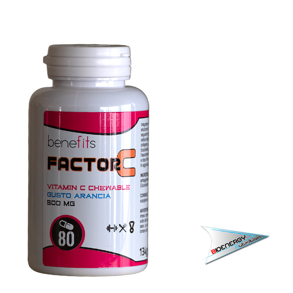 Benefits - Fitness Experience-FACTOR C 500 mg (Conf. 80 cps)