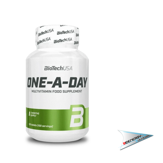 Biotech-ONE-A-DAY MULTIVITAMIN (Conf. 100 tab)