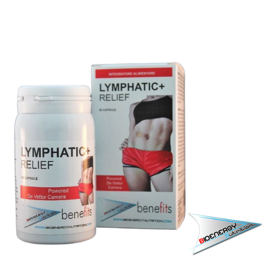 Benefits - Fitness Experience-LYMPHATIC+ RELIEF (Conf. 60 cps)